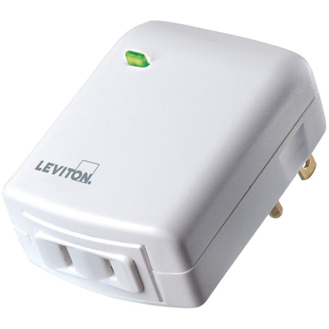 LEVITON SECURITY & AUTOMATION VRPD3-1LW Vizia RF +(R) Plug-in Dimming Module