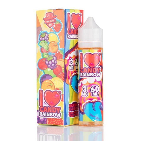 I LOVE CANDY E-JUICE BY MAD HATTER RAINBOW CANDY 60ML