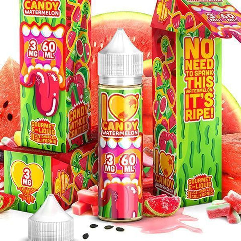 I LOVE CANDY E-JUICE BY MAD HATTER WATERMELON CANDY 60ML