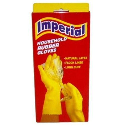 Imperial Rubber Gloves Boxed Large