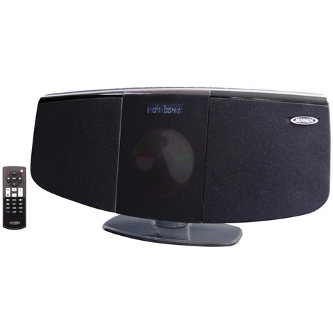 JENSEN(R) JBS-350 Bluetooth(R) Wall-Mountable Music System with CD Player