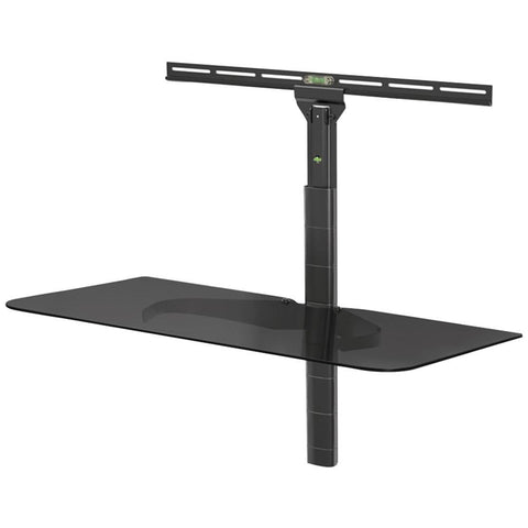 LEVEL MOUNT ELGS Glass Component Shelf for Flat Panel Mounts