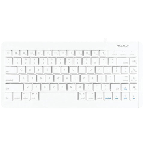 MACALLY MKEYXC 83-Key USB Keyboard