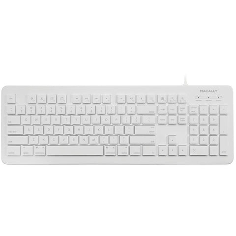MACALLY MKeyX 104-Key USB Keyboard