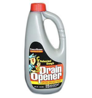 PowerHouse Drain Opener 32oz Professional Strenght