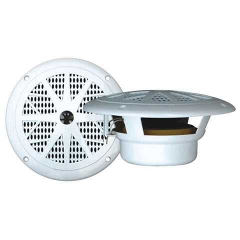 Pyle(R) PLMR61W Hydra Series Dual-Cone Waterproof Stereo Speakers (6.5)