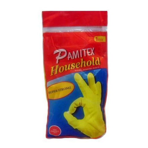 Pamitex Household Yellow Gloves Large Bag