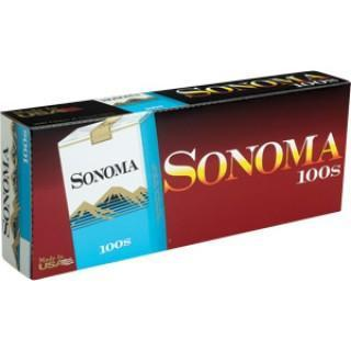 Sonoma Blue 100's Soft Pack