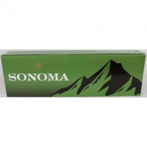 Sonoma Menthol Dark Green King Box