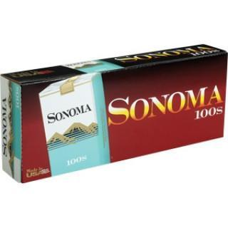 Sonoma Menthol Green Soft Pack