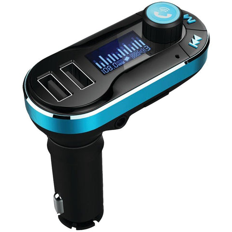 Supersonic IQ-211BT Bluetooth(R) Wireless FM Transmitter