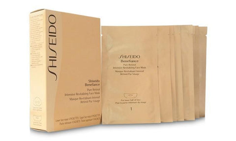 Shiseido Benefiance Pure Retinol Intensive Revitalizing Face Mask (4 Pairs)