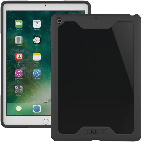 TRIDENT CAIP3K0 Cyclops Series Case for 2017 iPad(R) 9.7 (Black)