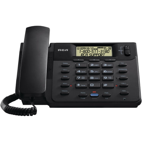 RCA(R) 25201RE1 2-Line Corded Speakerphone