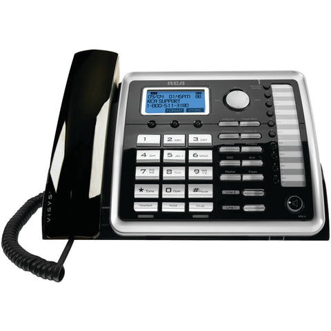 RCA(R) 25260 2-Line Corded Expandable Desk Phone