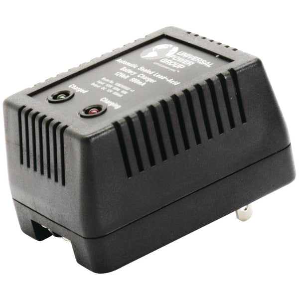 UPG(TM) D1730 Sealed Lead Acid Battery Charger (12V Dual-Stage with Screw Terminals; 500mAh)
