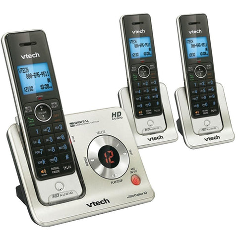 VTech(R) LS6425-3 DECT 6.0 3-Handset Answering System with Caller ID/Call Waiting