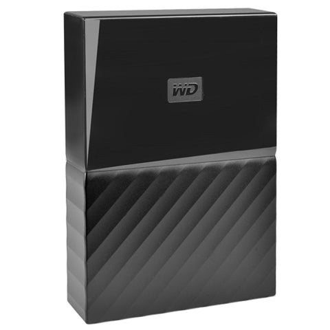Western Digital My Passport 4 Terabyte (4TB) SuperSpeed USB 3.0 2.5 External Hard Drive (Black)