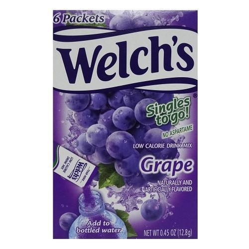 Welchs Singles To Go Grape-6 pack