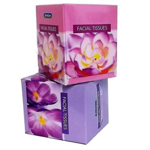 Xtra Care Facial Tissue 86 Count Floral
