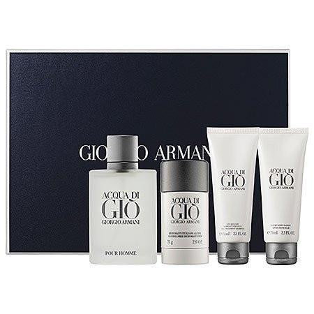 Aqua Di Gio for Men Gift Set 4 Pc