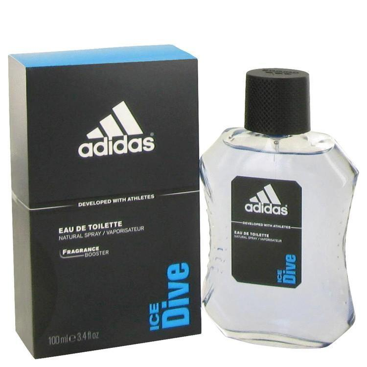 Adidas ice Dive Eau de toilette spray for men 3.4oz
