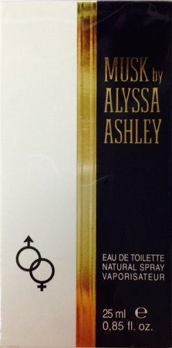 Alyssa Ashley Musk Eau de toilette spray for women 0.85oz