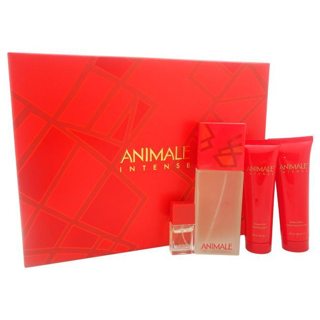 Animale Intense by Animale  for Women Gift Set 4pc