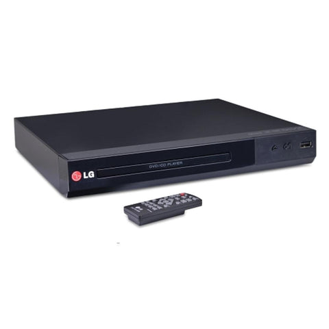 LG DP132 Multi-Playback DVD Player w/USB Direct Recording & DivX Playback (Black)