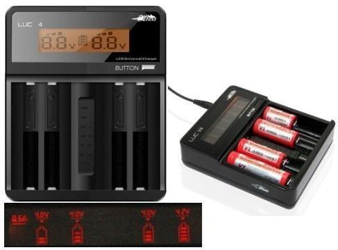eFest LUC V4 Multi-function Smart Charger with LCD Screen