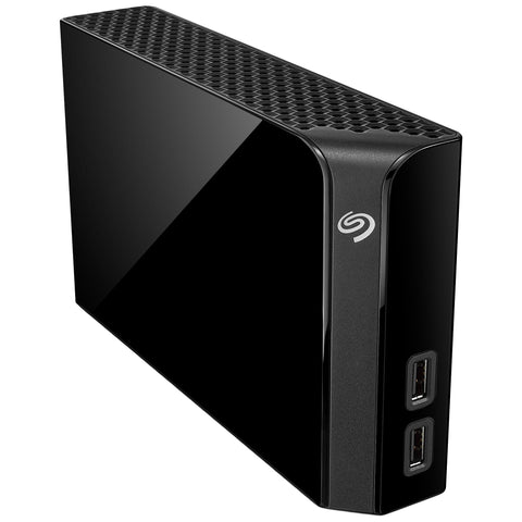 Seagate Backup Plus Hub 6TB Desktop Hard Drive with Rescue Data Recover