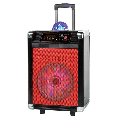 "8"" Portable Bluetooth DJ Speaker"