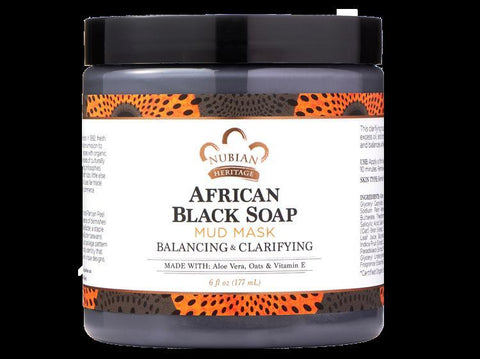 Nubian Heritage-African Black Soap Mud Mask
