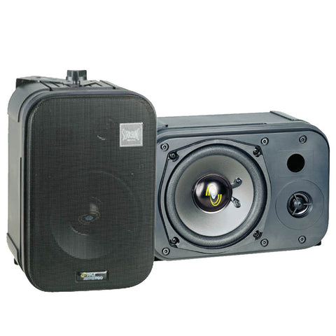 Pyle PDMN48 5 Two-Way Bass Reflex Mini-Monitor & Bookshelf/wall mount Speakers