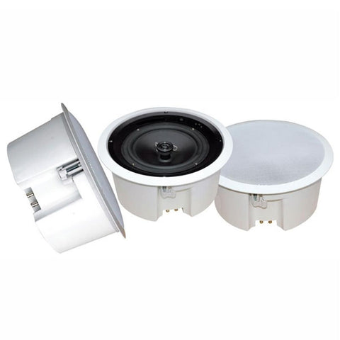 Pyle In-Ceiling Enclosed Speaker System with Rotary Tapping 70V Transformer