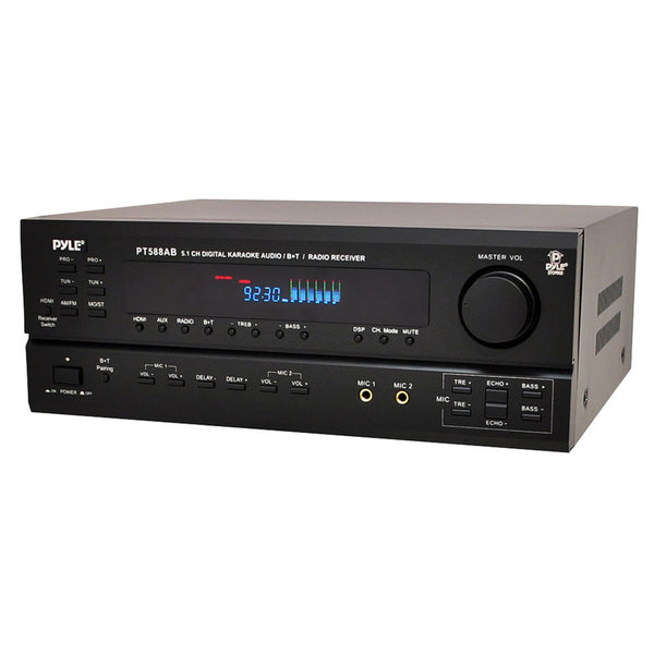 Pyle 5.1 Channel Home Receiver with AM/FM, HDMI and Bluetooth