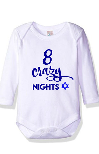 8 Crazy Nights Onesie