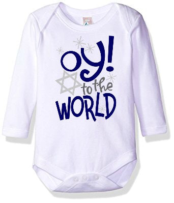 Oy! to the World Onesie