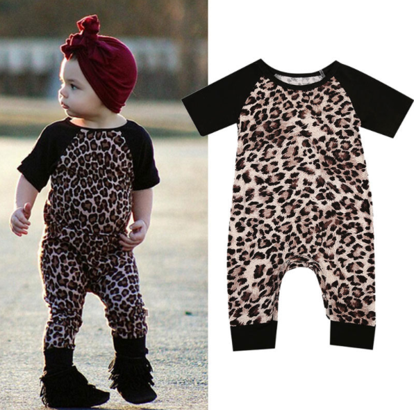 Little Leopard Romper