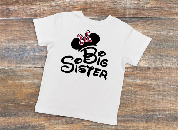 Big Sister Minnie Tee