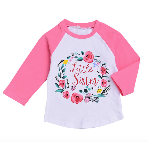 Little/Big Sister Raglan