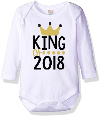 King of 2018 Onesie