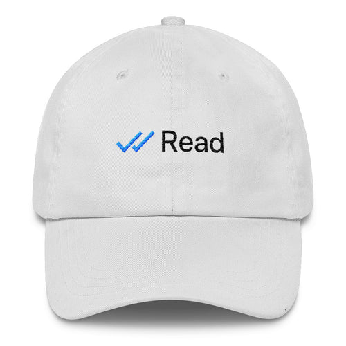 Read at 18:27pm Dad Hat