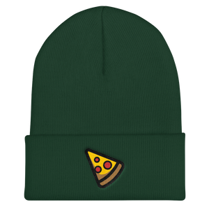Slice of Pizza Cuffed Beanie