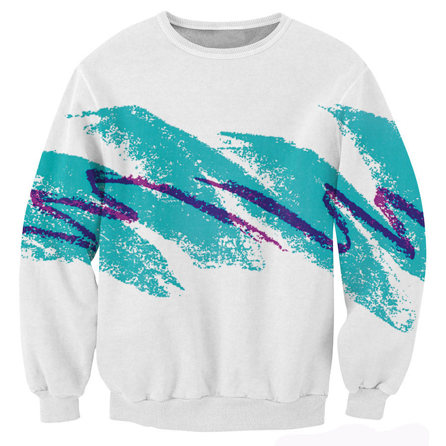 90's Wave Unisex Sweatshirt