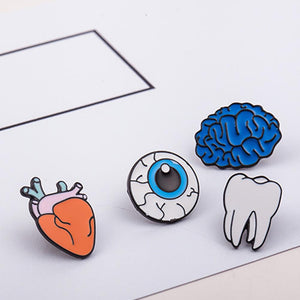 Totally Rad Body Bruh! Enamel Pins