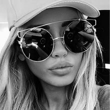 Oversized Mirror Women's Sunglasses