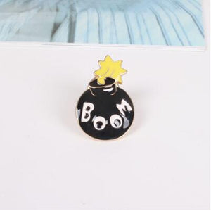 Boom Drop the Bomb Enamel Pin