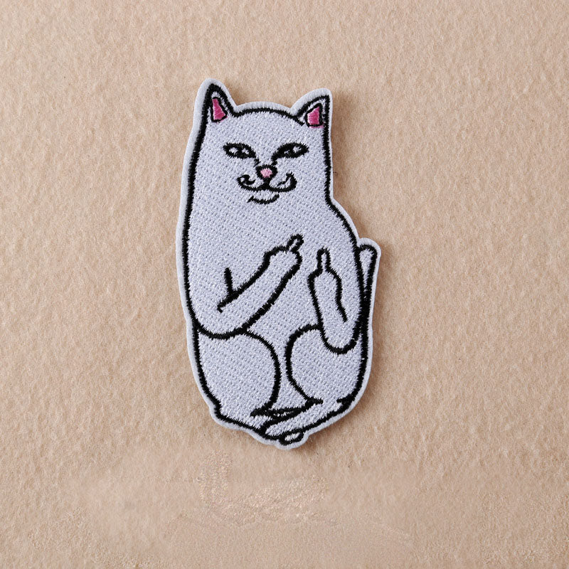 Cat 'Fuck You' Patch