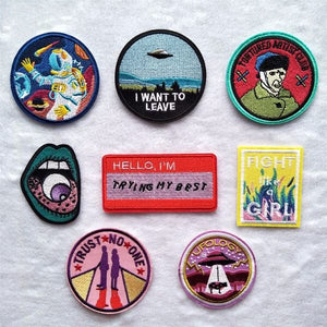 Retro Badge Patches